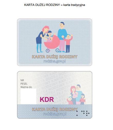 KDR karta tradycyjna